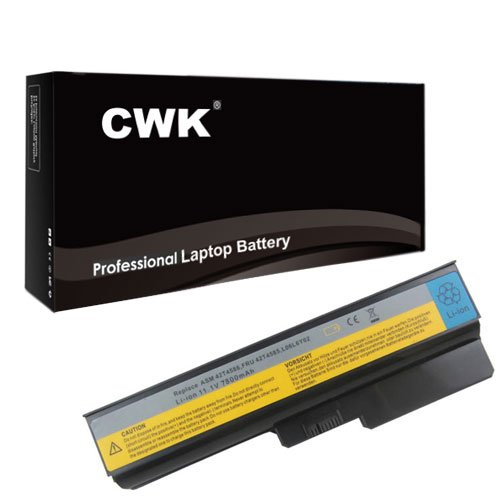 CWK 7800mAh 9 Cell New High Capacity Battery for Lenovo G430 G430A G450 G450A G530 G530A L3000 42T4581 42T4583 42T4585 Lenovo G430 L08S6Y02 51J0226 57Y6527 ASM 42T4586 L06L6Y02 Lenovo 3000 G430 G450 G455 G530 G550 G555 N500 B460 B550 IBM Lenovo 3000 N500 G430 G450 G530 42T4585 42T4586 42T4727 Lenovo 3000 N500 L08L6C02 L08O6C02 42T4561 42T4581 42T4583