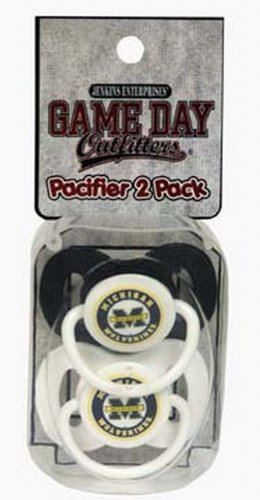 NCAA Michigan Wolverines Infant Pacifier