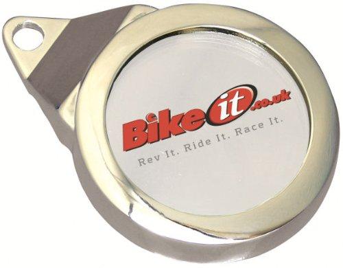 TDH003 - Bike It Classic Tax Disc Holder Chrome 12345767