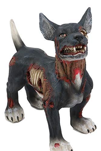 Ebros Gory Zombie Canine Dog Figurine 7.5