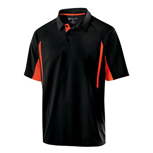 venger Polo (Large, Black/Orange) ()