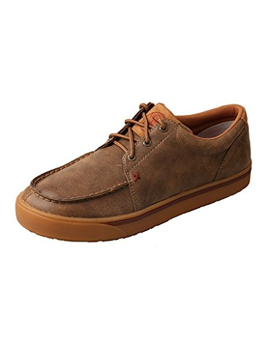 - Twisted X Hooey Casual Shoes Mens Lace Lopers Slip Resistant 8 M Bomber MHYC008