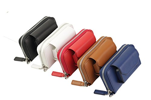 (German Couture premium genuine Leather Case for iQOS 2.4 plus + Pocket Charger Heets Holder etc. design origin germany)