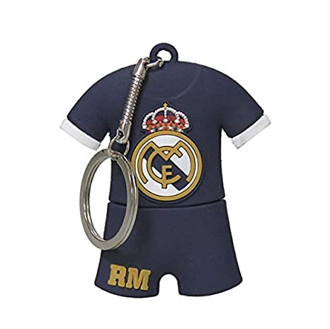 Real Madrid USB-13-RM Pendrive Rubber Camiseta, 16GB: Amazon ...