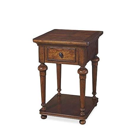 Wonderful Paula Deen Home Dogwood End Table In Low Tide