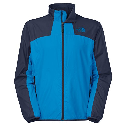 The North Face Men's Flyweight Lined Jacket (XX-Large, Drummer Blue/Cosmic Blue)