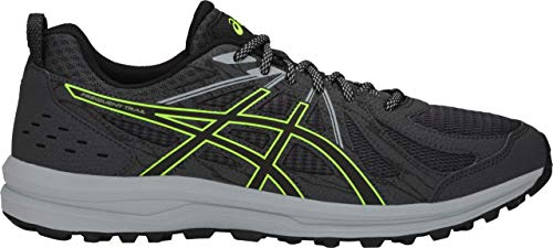 ASICS Men's, Frequent Trail Running Sneaker Black/Carbon 13 D