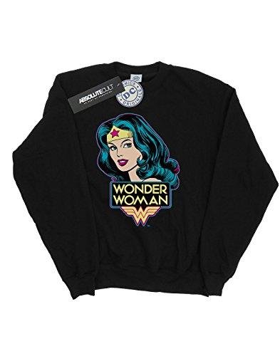 Woman Mujer Head Camisa Wonder Dc De Comics Negro Entrenamiento qtw6PPZ