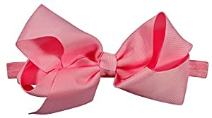 ES Kids Bow Headband - light pink, Light Pink