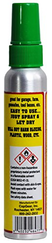 Metal Defense | Prevents Rust on Tools, Firearms, Any Metal Items Stored Indoors | Quick Drying Formula (Single 4 oz. Can) by CopGear, Inc. (Image #1)