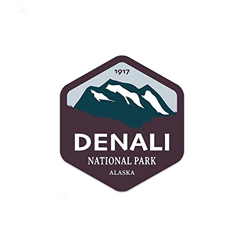 (Denali National Park Sticker )