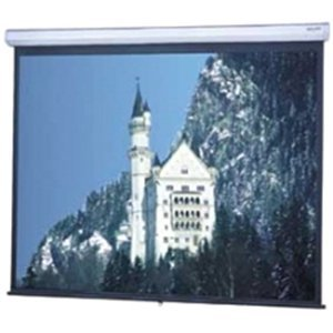 Da-Lite, Model C Wide Format Projection Screen 113 In ( 287 Cm ) 16:10 High Contrast Matte White White Powder Coat