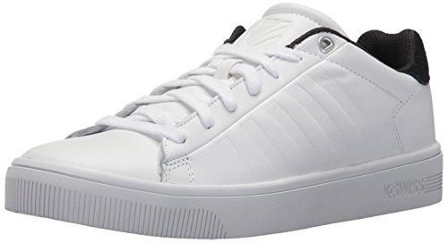 K-Swiss Men's Court Frasco Sneaker, White/Stretch