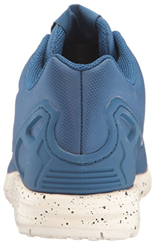 Adidas Originali Da Uomo Zx Flux Fashion Sneaker Tech Steel / Utility Blue / Chalk White