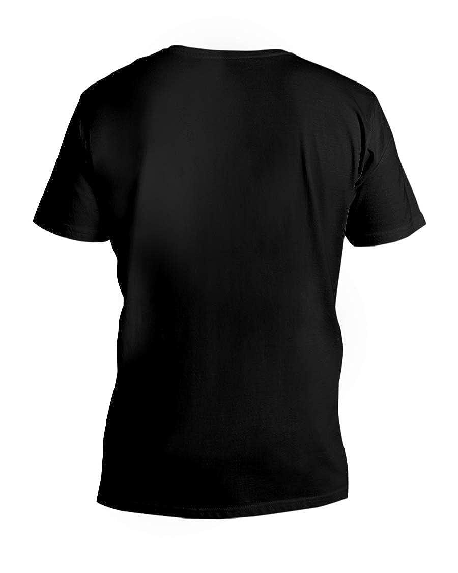 Nancy Findlayss Medieval Dragon V-Neck T-Shirt Black 2XL