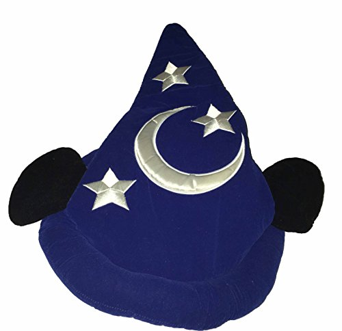 [Disney Parks Sorcerer Mickey Adult Hat] (Sorcerer Mickey Costume)