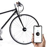 Bisecu Smart Bike Lock | Lock/Unlock with App, Theft Alarm, Riding Data Analysis (Black)