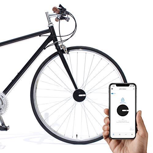 Bisecu Smart Bike Lock | Lock/Unlock with App, Theft Alarm, Riding Data Analysis (Black) (Best Smart Bike Lock)