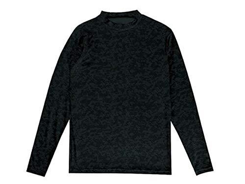 独特のキャベツ男らしさ裏起毛インナーシャツ 02/ブラック 160