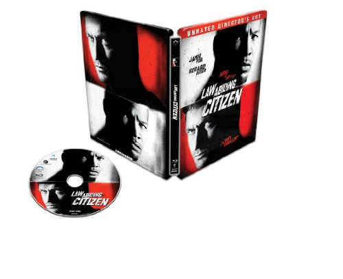 Law Abiding Citizen Steelbook [Blu-ray] (Jamie Foxx And Gerard Butler Law Abiding Citizen)