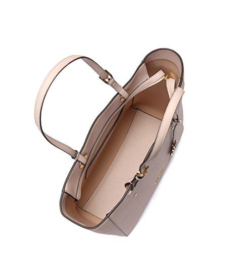 Borse Donna MICHAEL KORS walsh in pelle saffiano, manici regolabili, tasca posteriore a filetto, chiusura con zip, logo a vista