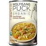 Wolfgang Puck Organic Free Range Chicken Noodle 14 oz (Pack of 6)