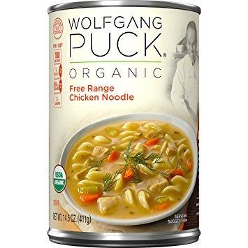 Wolfgang Puck Organic Soup (Wolfgang Puck Organic Free Range Chicken Noodle 14 oz (Pack of 6))