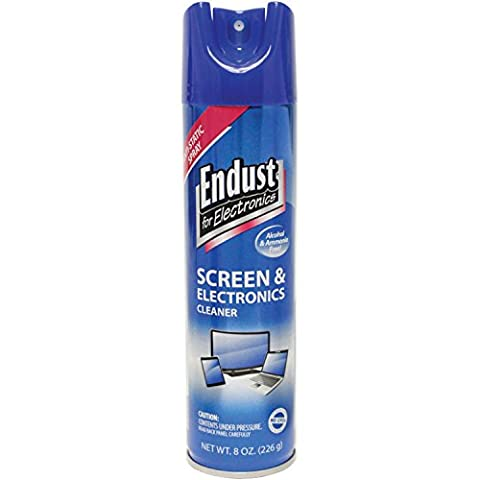 Endust for Electronics 8oz Anti-Static Screen and Electronics Cleaner - 3 Light Jt System