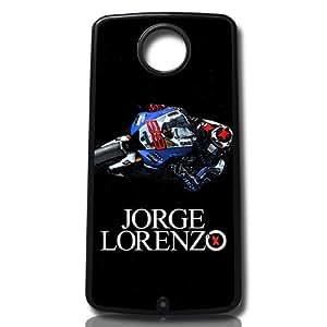 carcasa funda para movil compatible con google nexus 6 99 motos jorge lorenzo