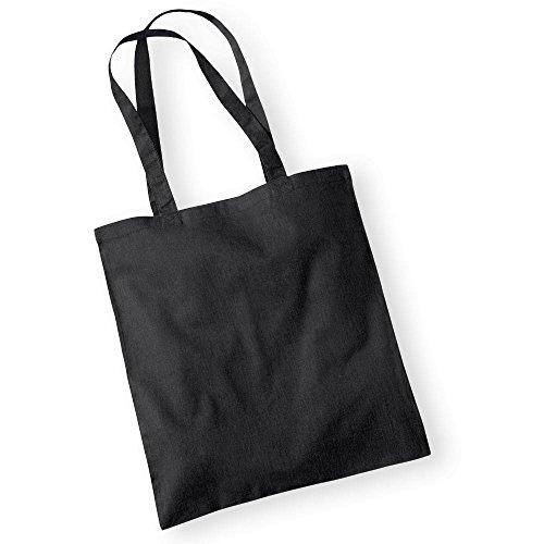 Westford MillBorsa in cotone con lunghi manici Black