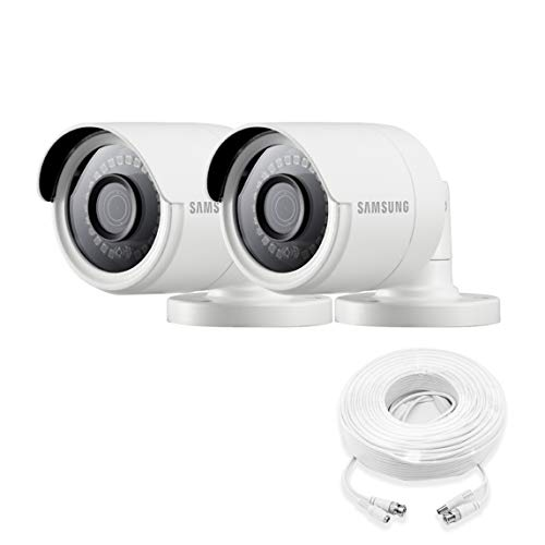 Samsung Wisenet SDC-89440BB-2PK - 4MP Weatherproof Bullet Camera (2-Pack) Compatible with SDH-C85100BF