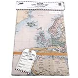 Cavallini World Map Wrapping Paper: Amazon.co.uk: Office Products