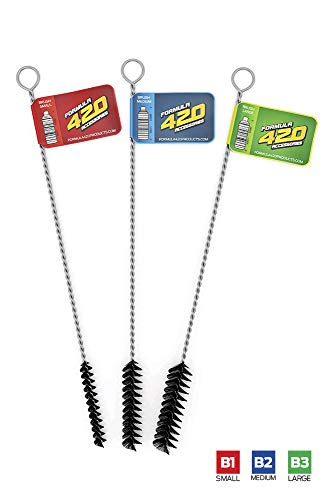 Formula 420 Cleaning Brush KIt - 3 Sizes - Formula 420 Detailing Cleaning Brush Set