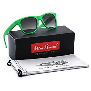 Kids Soft Frame Sunglasses AGE 3-12 - Green