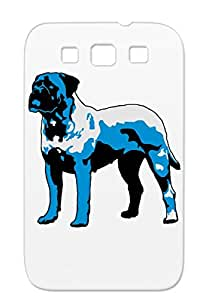 TPU Bulmastiff Bulmastif Dogs Pet Bullmastifs Animals Nature Pets Bullmastiffs Dogs Bullmastif Bullmastiff Animals Animal Dog Navy Anti-drop Case Cover For Sumsang Galaxy S3