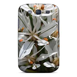 Durable Defender For Case Samsung Note 3 Cover PC Cover(asphodelus Albus Affodil)