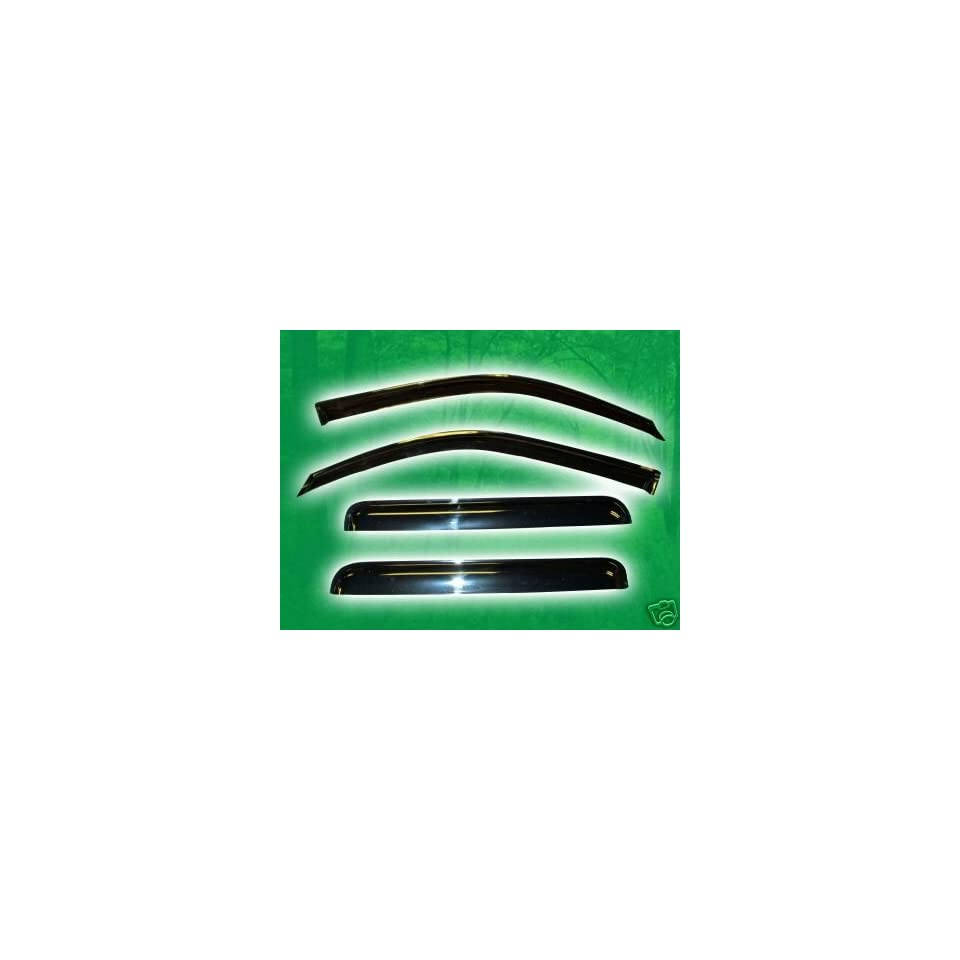 Window Visor Vent Shade   Chevy Trailblazer (NOT EXT, Regular Wheel Base only with rear window size 22 1/2 long) 02 08