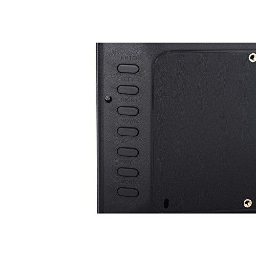 "Minidiva 12"" 1080P HD LED Digital Photo Frame(16:9) - Multifunction Digital Picture Display 1280x800 with Max 32GB Storage(Black)"