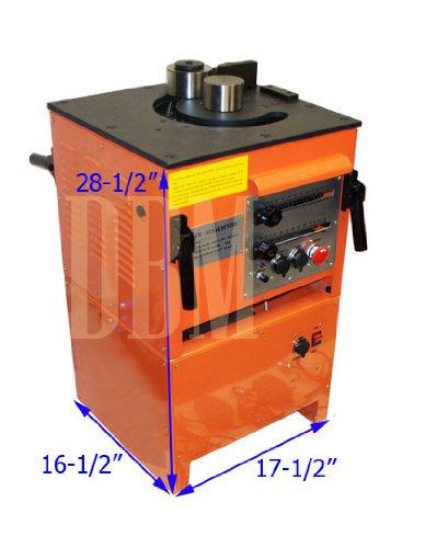 Electric Rebar Bender Bending Machine Table Bends 1''(25MM) Rebar Cutter Cuttting