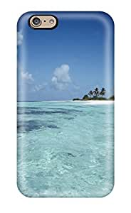 Iphone 6 Case, Premium Protective Case With Awesome Look - Maldives Holiday(3D PC Soft Case)