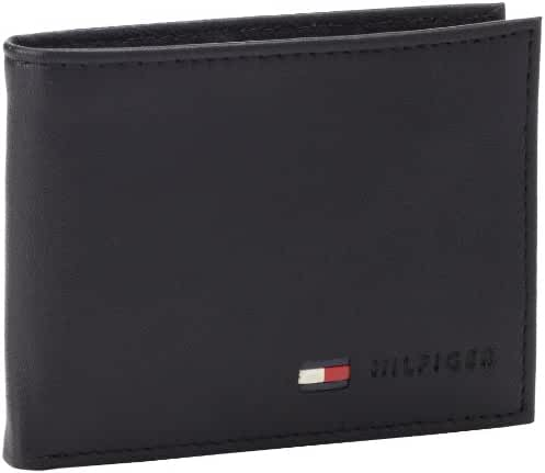 Tommy Hilfiger Men's Leather Multi-Card Bifold Wallet