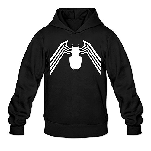 Price comparison product image Greenday Men's Hoodie Spider Venom Logo Size XXL Black