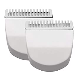 2PCS White Professional Peanut Clipper/Trimmer Snap On Replacement Blades #2068-300-Fits Compatible with Professional…