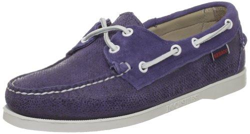 Sebago B500004, Boots femme Bleu (Carolina Blue)