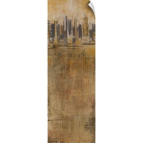 CANVAS ON DEMAND Skyline Series I Wall Peel Art Print, 20