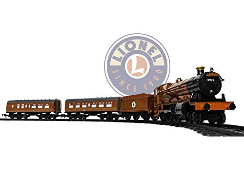 Lionel Hogwarts Express Battery-Powered Model Train Set Ready to Play w/Remote