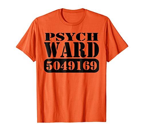 Mens Psych Ward Prisoner Inmate Jail Halloween Costume