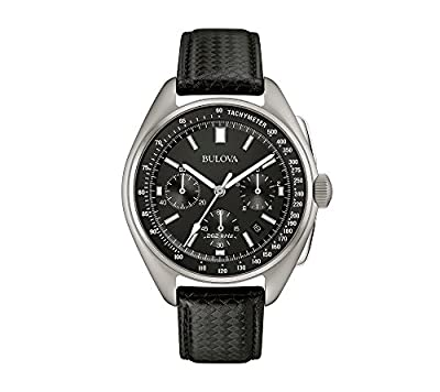 Bulova Men's 45mm Special Edition Lunar Pilot Chronograph Watch by Bulova