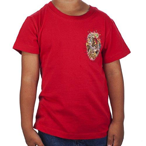 - Ed Hardy Toddlers Eagle Basic Tshirt - Red - 3/4