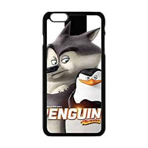 Happy Penguins Design Pesonalized Creative Phone Case For Iphone 6 Plaus
